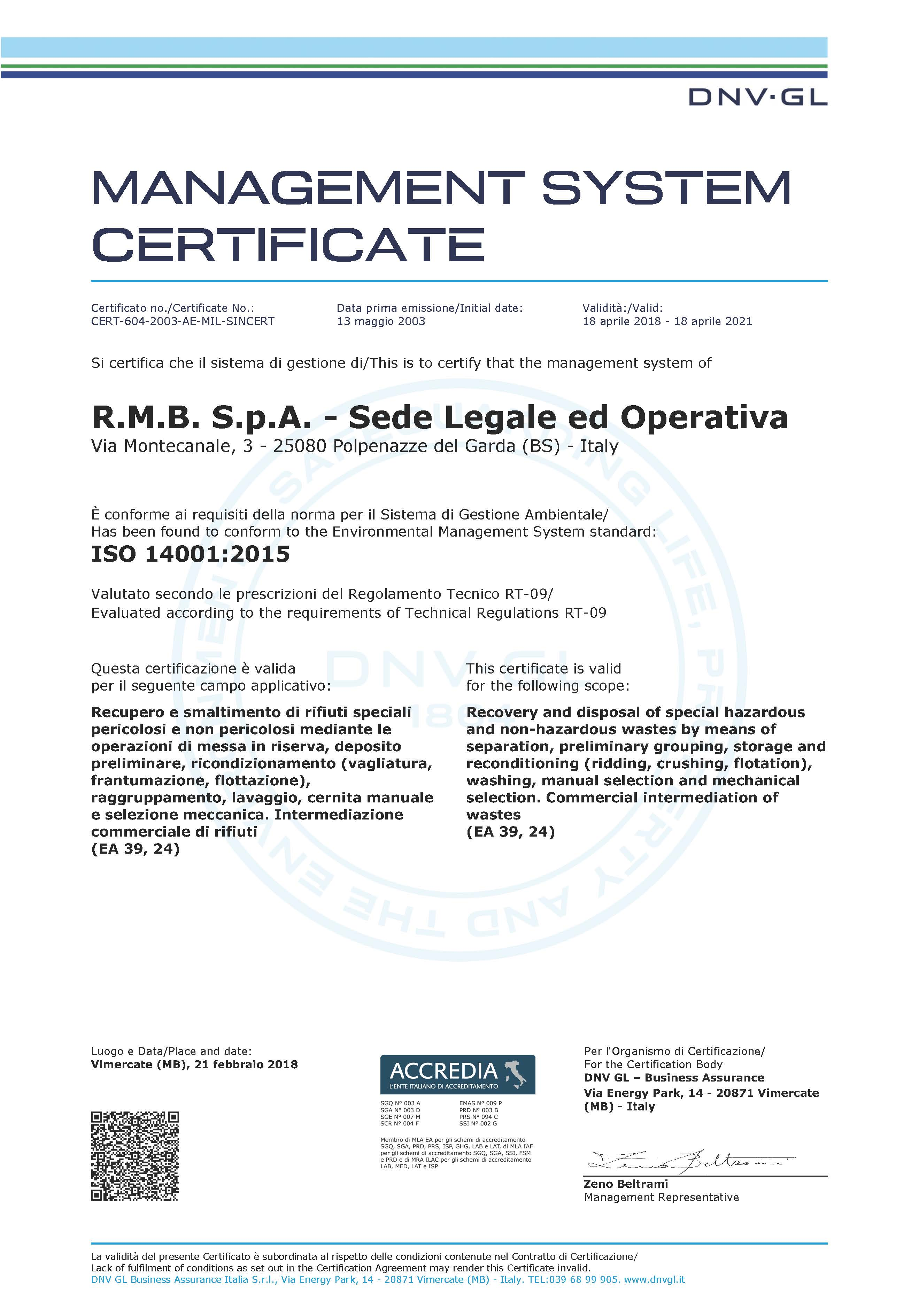 Environmental Compatibility And Safety Certifications