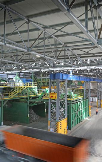 impianti per recupero materiale ferroso