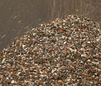 recupero minerali da trattamento di terreni